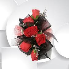 Red Rose Corsage Corsage Boutonniere Archive Stenlands Events