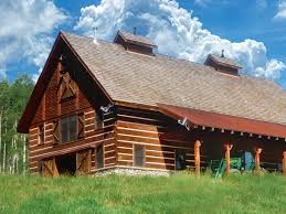 Timber Frame Cottage by Multi Use Timber Frame Barn Hearthstone Homes