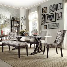 artisan home decor trumbull stainless steel dining table by inspire q artisan home