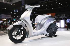 mitsubishi vietnam yamaha glorious concept showcased at vietnam motorcycle show
