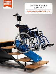 sedie per disabili per scendere scale montascale a cingoli sollevatore mobile per scale