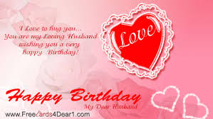 happy birthday greeting cards for husband bday wishes cakes