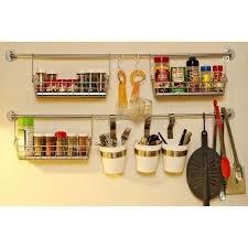 crochet ustensile cuisine barre murale ustensiles de cuisine 60 cm achat vente barre