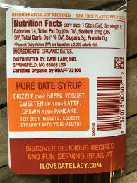 76 Best Images About Stick - organic date syrup stick pack 5 single serving sticks per pack