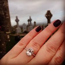 morganite engagement ring white gold my morganite engagement ring weddingbee