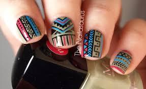 41 best tribal nail art images on pinterest aztec nail art