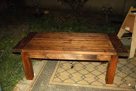 coffee table simple construction free diy coffee table plans how