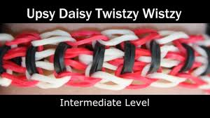 rainbow loom upsy daisy twistzy wistzy bracelet youtube