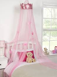 Bed Canopy Uk Childrens Princess Crown Bed Canopy Insect Mosquito Net
