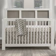 Crib White Convertible by Natart Rustico Moderno Collection 4 In 1 Convertible Crib In White
