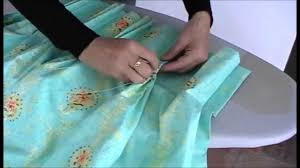 Pinch Pleated Lined Drapes How To Make Pinch Pleat Curtains Part 2 Youtube Perde