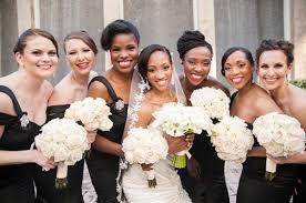 black and white wedding bridesmaid dresses bridesmaid dresses 25 stylish looks