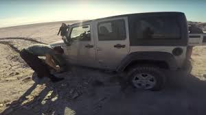 jeep wrangler beach cruiser jeep wranglers getting stuck at salton sea youtube