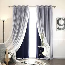 How To Make Grommet Top Curtains Grommet Top Patio Panel 84 Curtains Plow Hearth Elegance Insulated