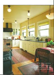 interior design 1920s home simple cotton shades in a portland kitchen scalloped spring