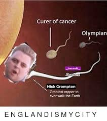 Memes Cancer - curer of cancer olympian bacardil absentchill nick crompton greatest