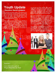 christmas tree newsletter templates template newsletter templates