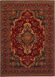 Couristan Outdoor Rugs Kerman Medallion Rug From Old World Classics By Couristan