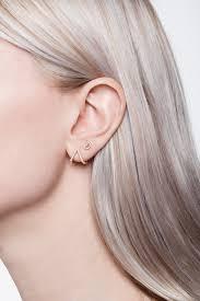 cuff ear micro pave triangle ear cuff single earring wendy nichol