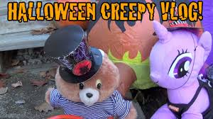 Happy Halloween Animated Creepy Vlog 6 Happy Halloween Youtube