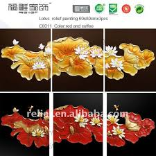 lucky tree relief paintings home decoration painting shop for sale