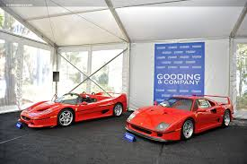 f40 auction auction results and sales data for 1990 f40