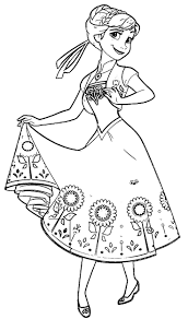 27 anna frozen coloring pages free disney frozen coloring