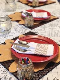 kids in mind thanksgiving tablescapes that keep kids in mind and happy at the