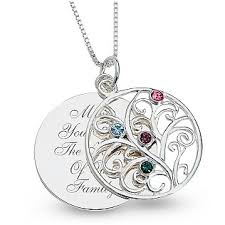 mothers day birthstone necklace what to get my elderly for s day