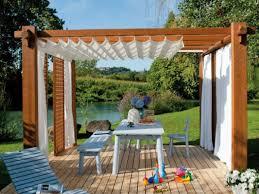 patio deck pergola outdoor pergola with curtain interior designs