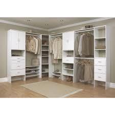contemporary dressing room with closetmaid corner shelves ideas