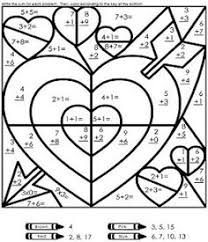 ideas of color by number math worksheets 4th grade in reference