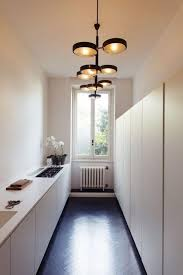 White Small Kitchen Designs Best 25 Long Narrow Kitchen Ideas On Pinterest Small Island