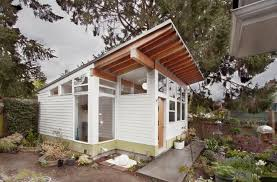 tiny home backyard studio and guest house has got style
