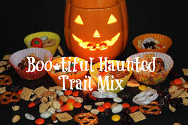 boo tiful haunted trail mix recipe for halloween wemake7
