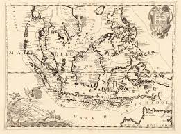 East And Southeast Asia Map by Antique Map Southeast Asia Coronelli Vincenzo Maria Isole Dell