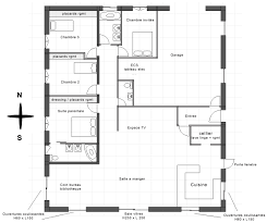 plan maison 5 chambres gratuit plan de maison 5 chambres cool maison design l with plan de