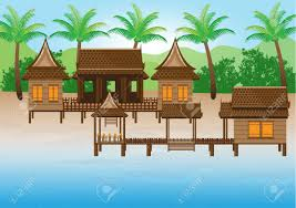 thai house royalty free cliparts vectors and stock illustration