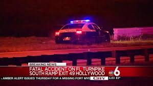1 killed in crash on florida u0027s turnpike in hollywood nbc 6 south