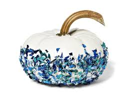 how to make glittered pumpkins hgtv