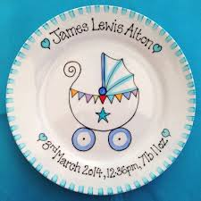 baby birth plates gift plate for new baby girl pram birth plate personalised baby