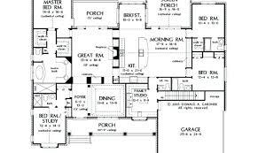 one floor house plans blueprints 4 bedroom house tarowing club