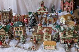tips and tutorial for creating a beautiful christmas village