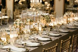 gold and gray wedding reception elizabeth anne designs the