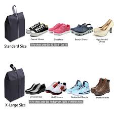 Arkansas best travel shoes images Yamiu travel shoe bags set of 4 waterproof nylon with jpg