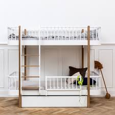 Baby Bunk Bed Oliver Wood Bunk Bed Drawer Guard And Beds For Babies