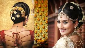 marriage bridal hairstyle south indian bridal makeup and hairstyle tutorial simple bridal