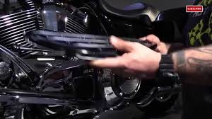 Motorcycle Footboards How To Install Arlen Ness Deep Cut Driver And Passenger Motorcycle