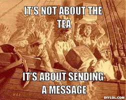 Tea Party Meme - house majority leader eric cantor ousted in primaries by tea party