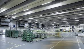 Led Warehouse Lighting How Manufacturing Lighting Benefits From Led Technology Relumination